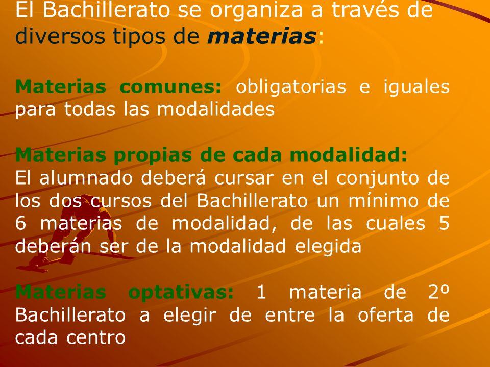 CARACTERÍSTICAS Es enseñanza secundaria NO obligatoria y tiene tres funciones: Formativa: favorecer una mayor madurez personal. Preparatoria: para est