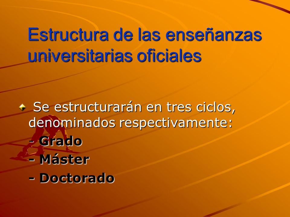 ENSEÑANZAS UNIVERSITARIAS UNIVERSITARIAS