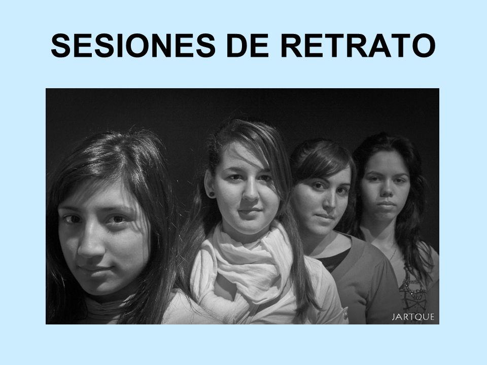 SESIONES DE RETRATO