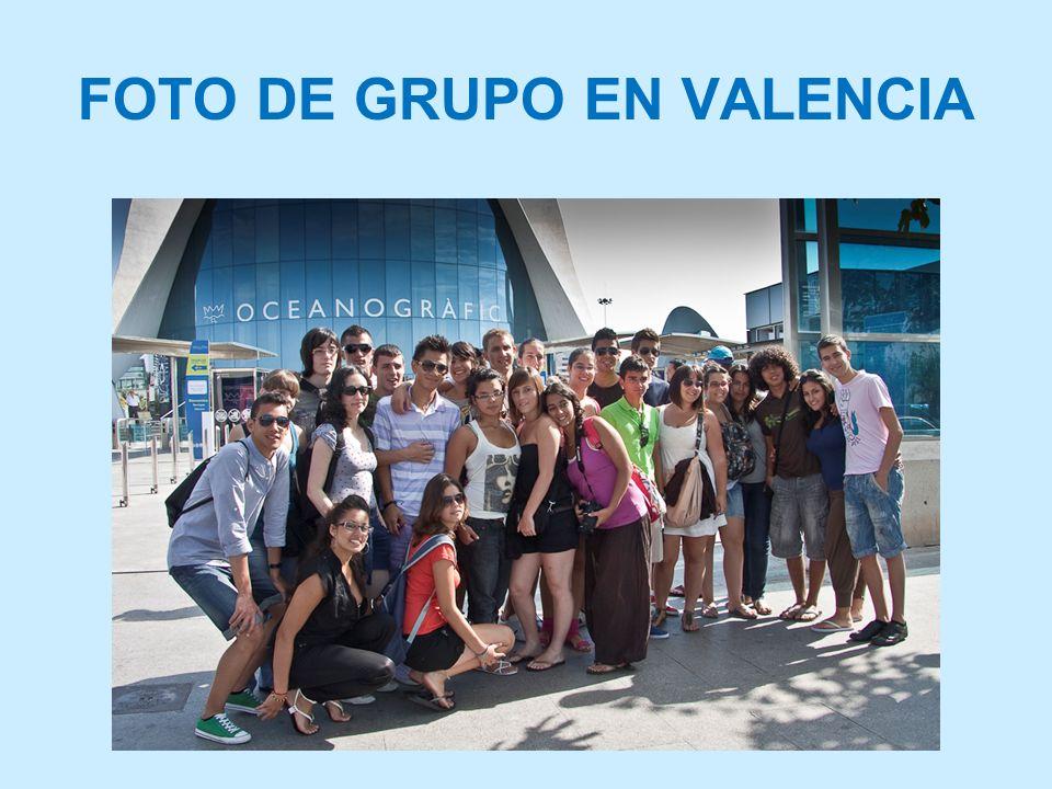 FOTO DE GRUPO EN VALENCIA