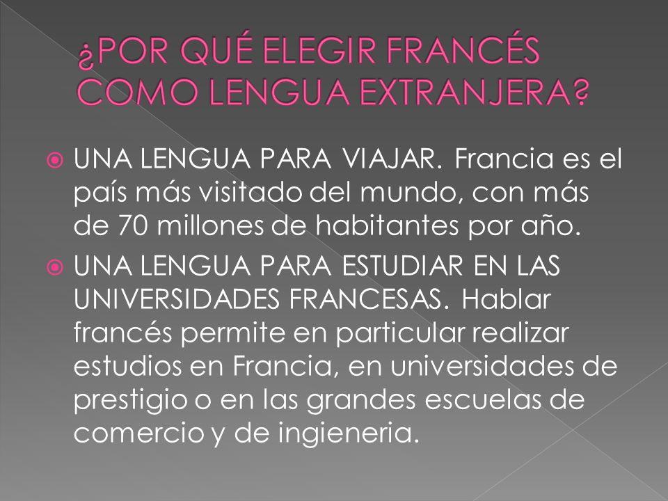 LA OTRA LENGUA DE LAS RELACIONES INTERNACIONALES.