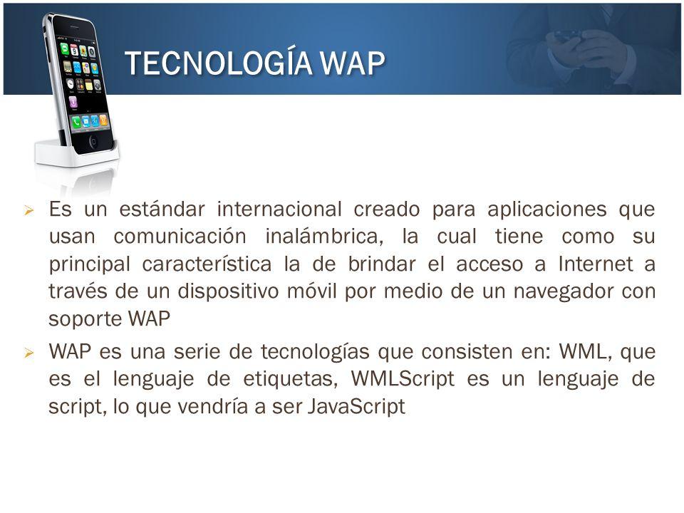 Es un estándar internacional creado para aplicaciones que usan comunicación inalámbrica, la cual tiene como su principal característica la de brindar