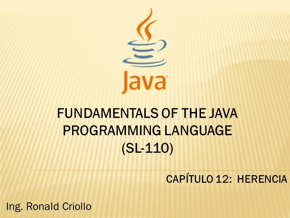 Herencia y Programación orientada a objetos.