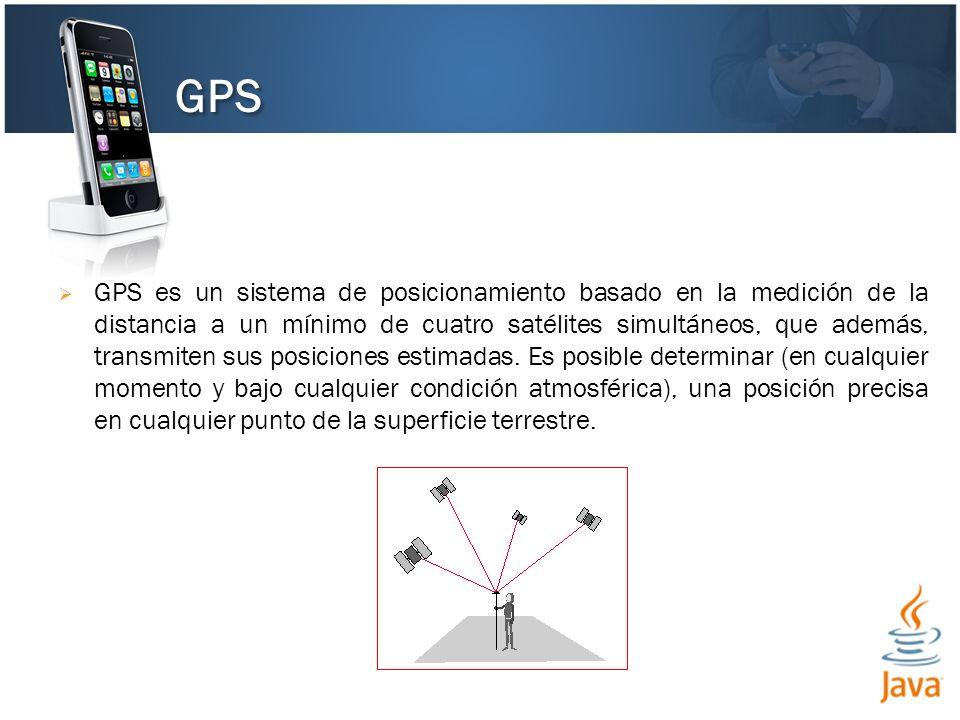 GPS es un sistema de posicionamiento basado en la medición de la distancia a un mínimo de cuatro satélites simultáneos, que además, transmiten sus pos