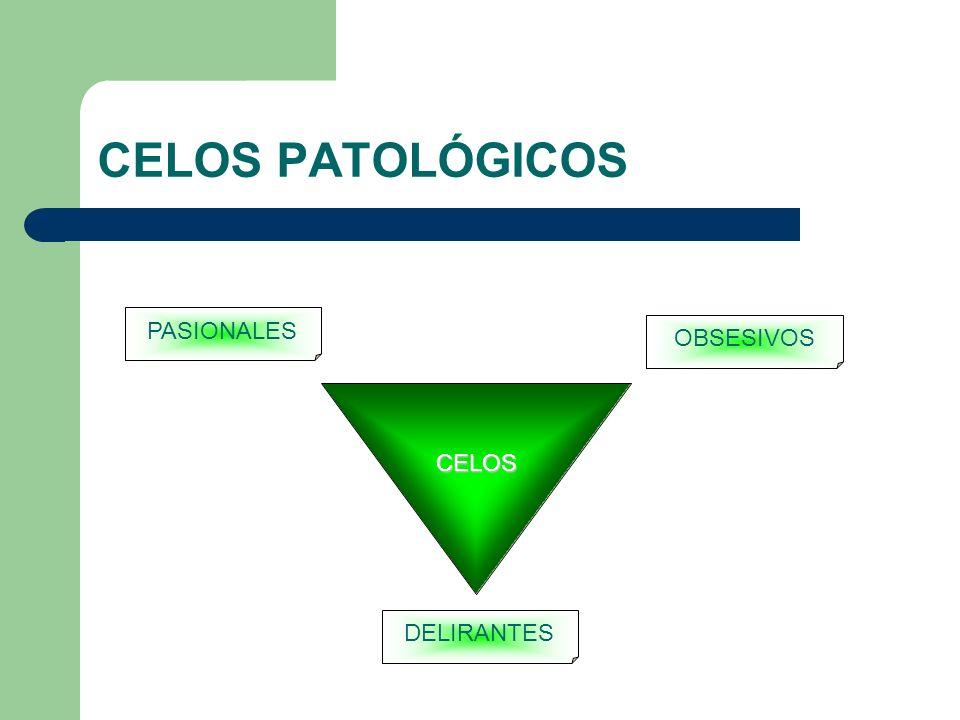 CELOS PATOLÓGICOS CELOS PASIONALES OBSESIVOS DELIRANTES
