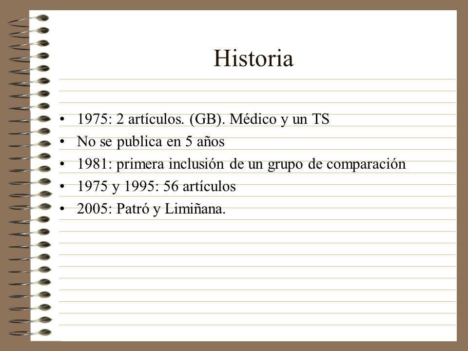Historia 1975: 2 artículos.(GB).