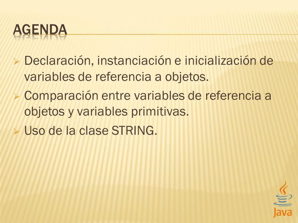 CLASE STRING CLASES DE JAVA