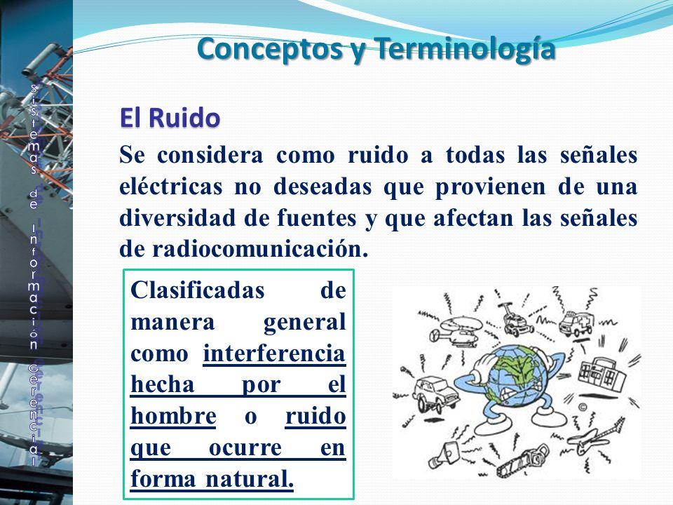 El Ruido Se considera como ruido a todas las señales eléctricas no deseadas que provienen de una diversidad de fuentes y que afectan las señales de ra