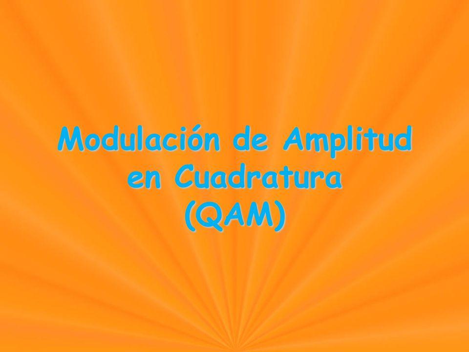 Modulación de Amplitud en Cuadratura (QAM) Modulación de Amplitud en Cuadratura (QAM)