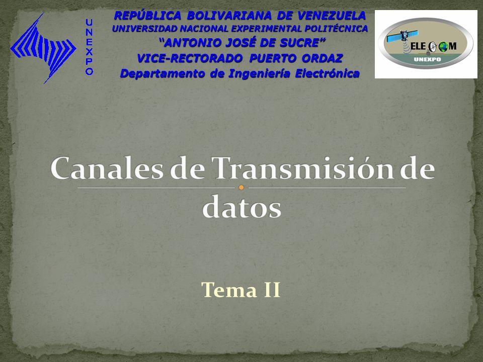 Tema II REPÚBLICA BOLIVARIANA DE VENEZUELA UNIVERSIDAD NACIONAL EXPERIMENTAL POLITÉCNICA ANTONIO JOSÉ DE SUCRE ANTONIO JOSÉ DE SUCRE VICE-RECTORADO PU