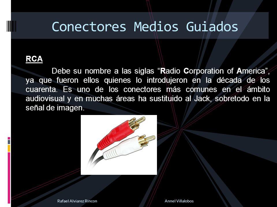 RCA Debe su nombre a las siglas Radio Corporation of America, ya que fueron ellos quienes lo introdujeron en la década de los cuarenta. Es uno de los