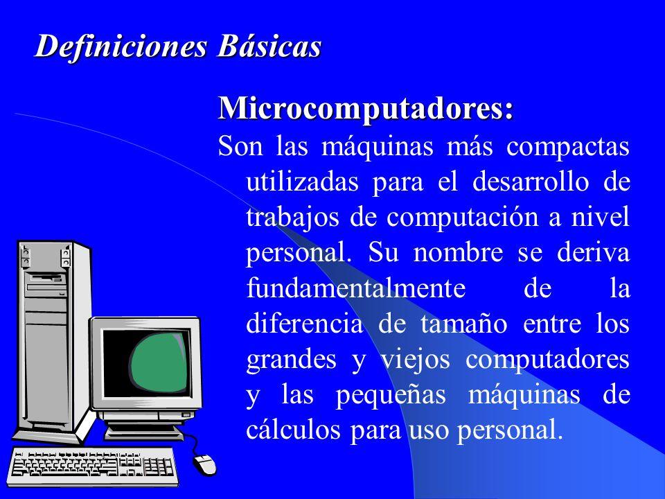 Bloques funcionales de un Sistema de Computo.