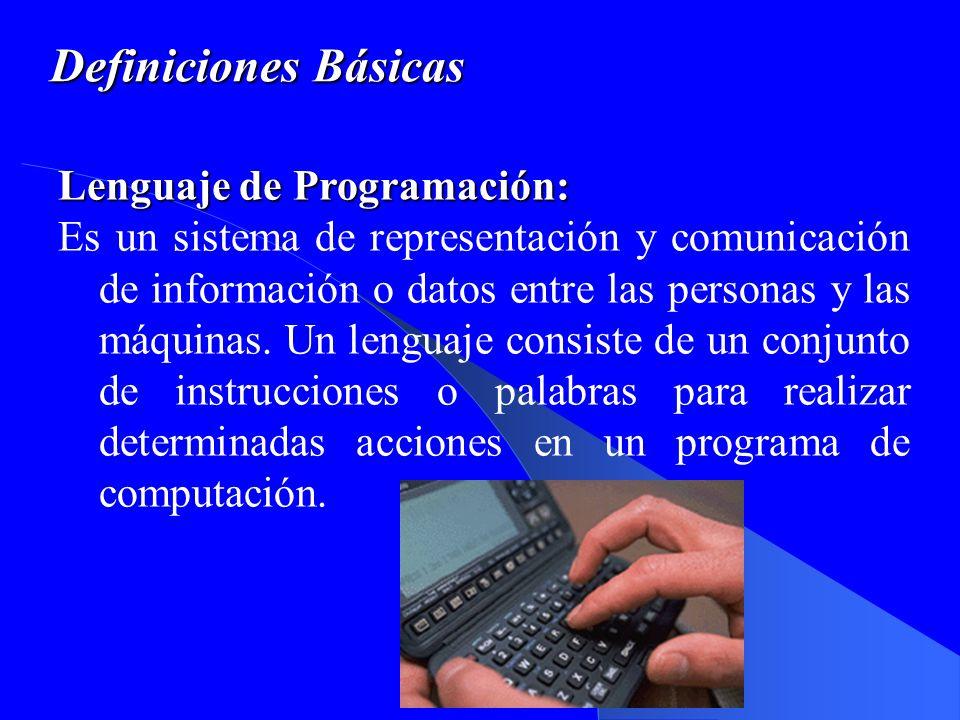 Definiciones Básicas Bit: Es la contracción de la palabra dígito binario (binary digit).