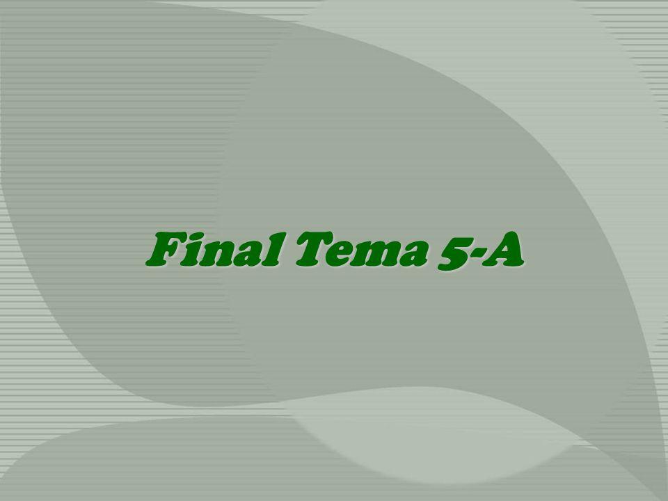 Final Tema 5-A