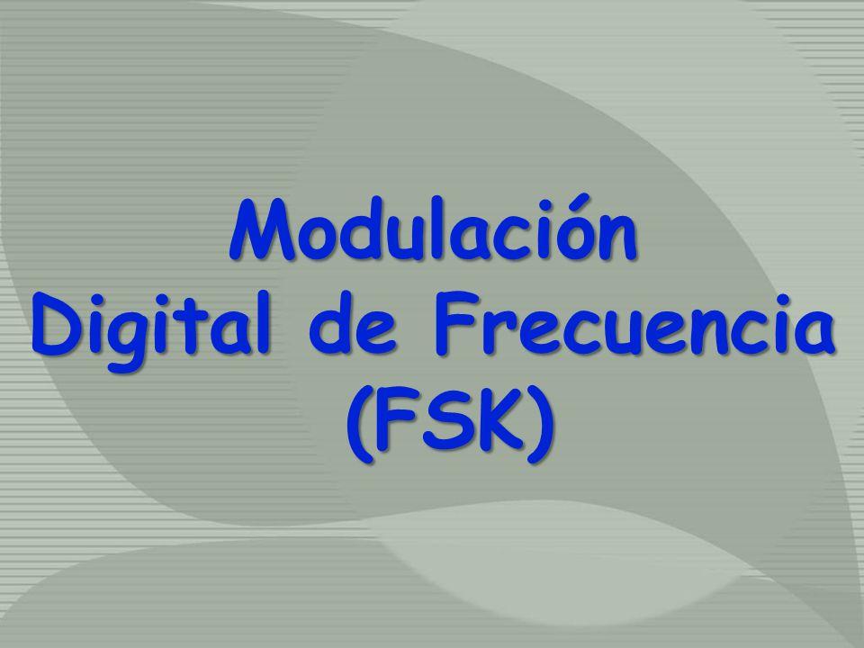 Modulación Digital de Frecuencia (FSK)