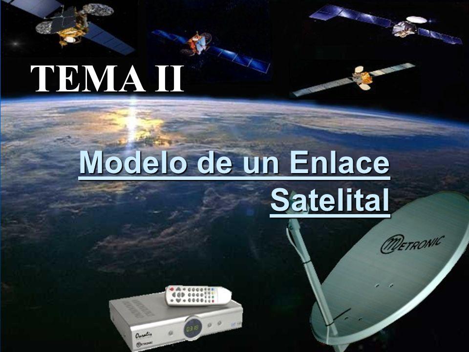 Modelo de un Enlace Satelital TEMA II
