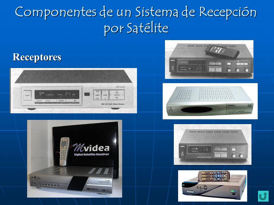Receptores Componentes de un Sistema de Recepción por Satélite