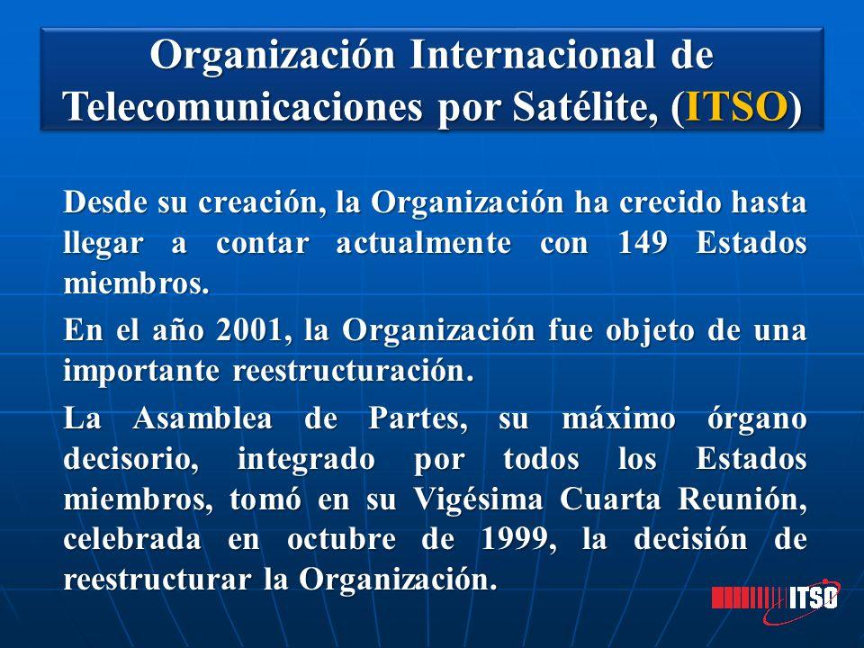 Desde su creación, la Organización ha crecido hasta llegar a contar actualmente con 149 Estados miembros. En el año 2001, la Organización fue objeto d