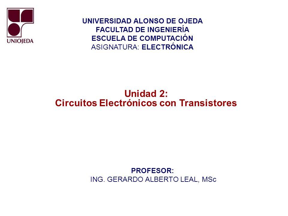EL TRANSISTOR DE UNION BIPOLAR (BJT): Numero de Electrones: E > C y C >> B