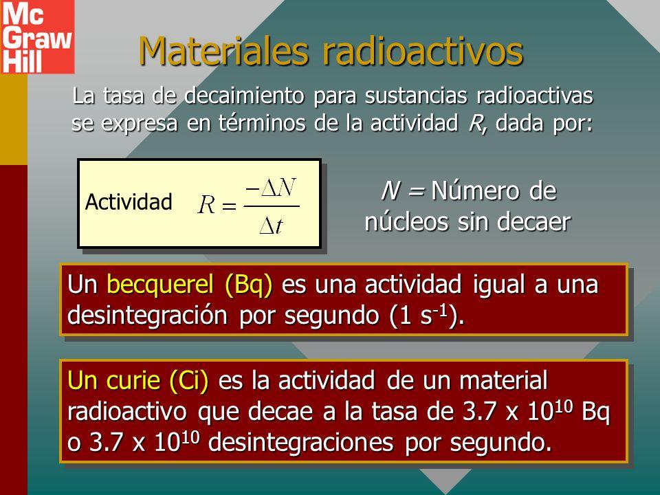 Decaimiento beta más El decaimiento beta más resulta cuando un protón decae en un neutrón y un positrón. Por tanto, el número Z disminuye por uno. X e