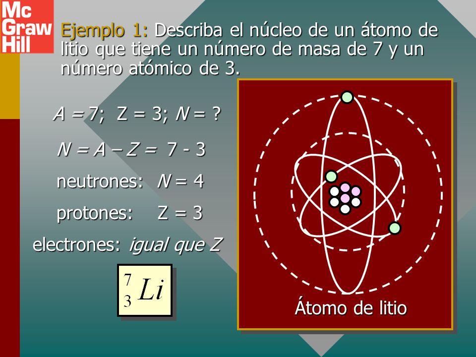 Energía de enlace por nucleón Una importante forma de comparación de los núcleos de los átomos es encontrar sus energías de enlace por nucleón: Para el ejemplo de C-12 A = 12 y: Energía de enlace por nucleón