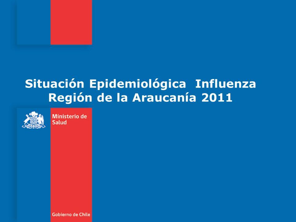 Situación Epidemiológica Influenza Región de la Araucanía 2011