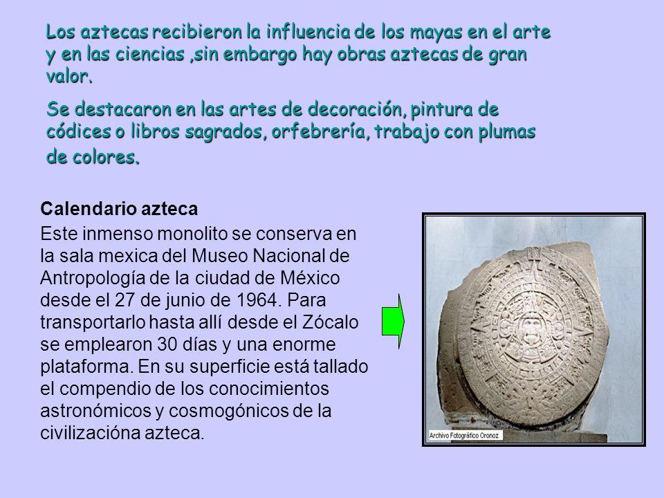 Los Aztecas fueron agricultores del maíz, como los mayas, pero usaban una técnica más refinada. Realizando labores como: Uso de abonos animales. Uso d
