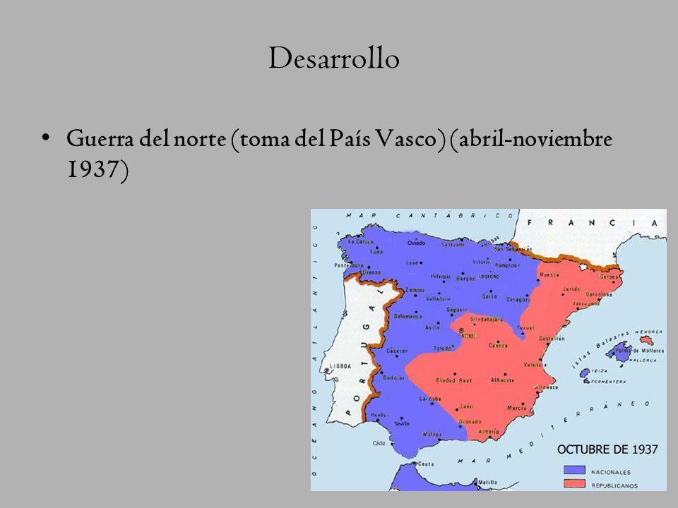 Desarrollo del conflicto Julio de 1936: Sublevación militar en Melilla, Marruecos. La sublevación triunfa en: