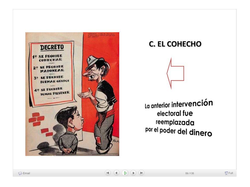 más humor...después de vender su voto Algunos aprovecharon de pagar sus pensiones pendientes Otros se pegaron la vigésima mona del año, llorada y cantada.