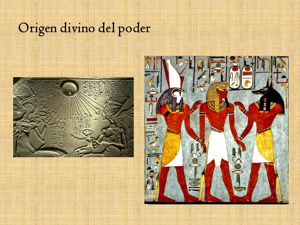 El Faraón Dueño y señor de los hombres y las tierras Roles, proteger, unir, controlar Historia como sucesión de faraones en dinastías