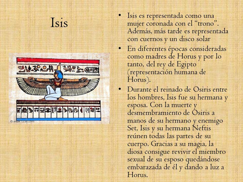Anubis Es el dios que acude a llevarse a los fallecidos a la otra vida y se le representa como un cánido. El motivo de esta asociación se encuentra en