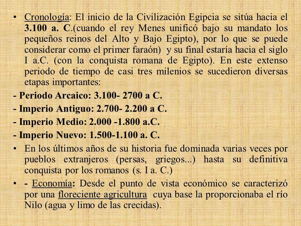 - Imperio Medio.