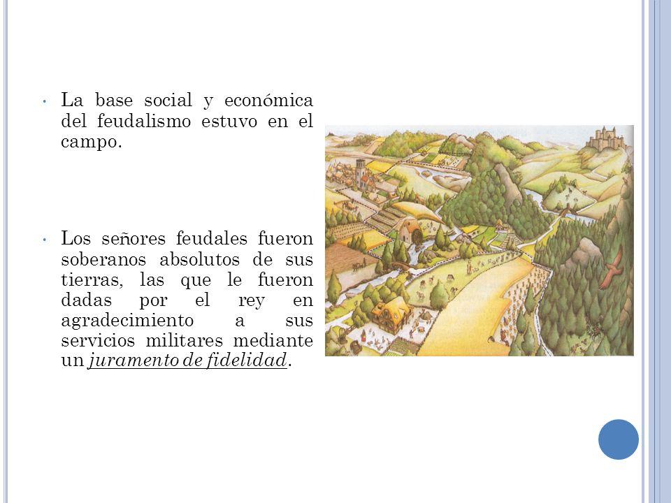 Feudalismo Fue el sistema político, social y económico que se desarrolló en Europa durante la Edad Media, alcanzando sus formas más características en
