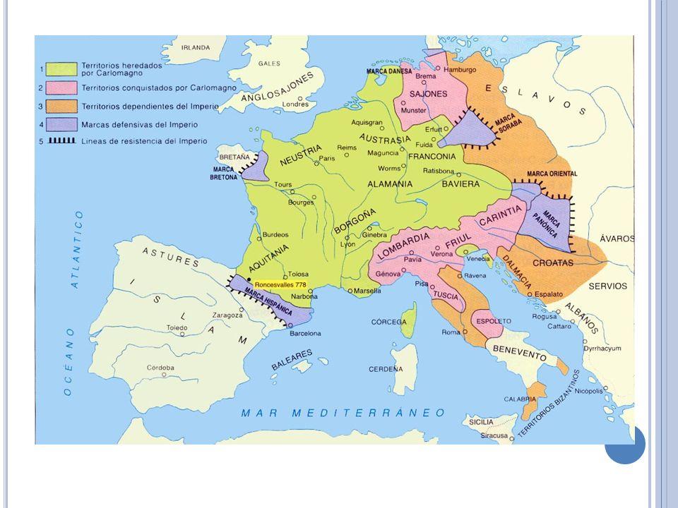 Causas del Feudalismo Debilidad de los reinos europeos tras la desaparición del imperio Carolingio. Miedo e inseguridad provocadas por las nuevas inva