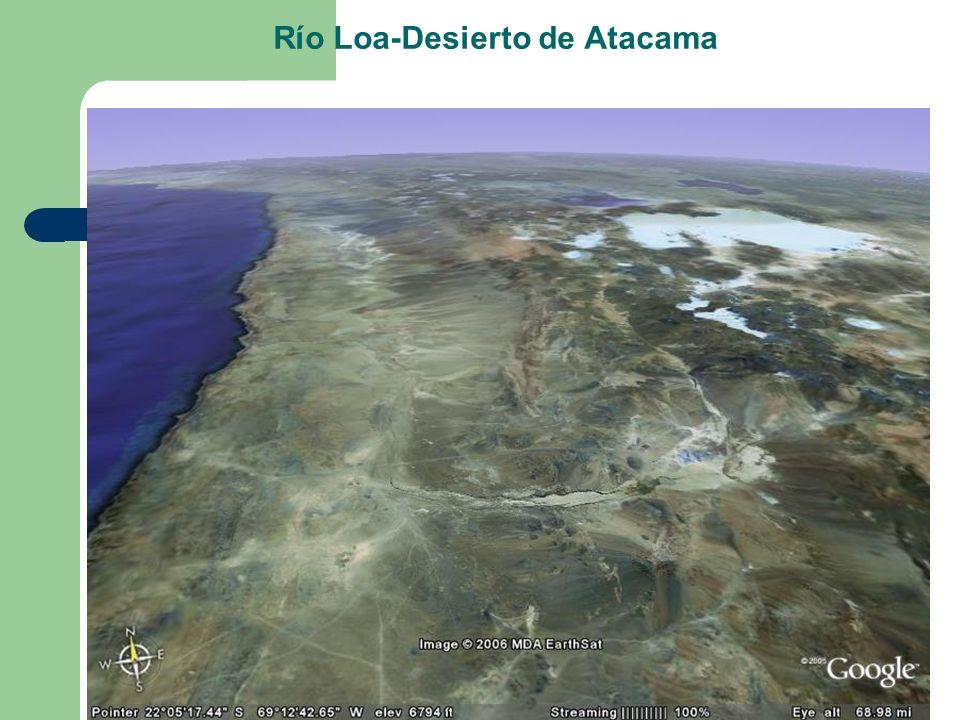 Río Loa-Desierto de Atacama