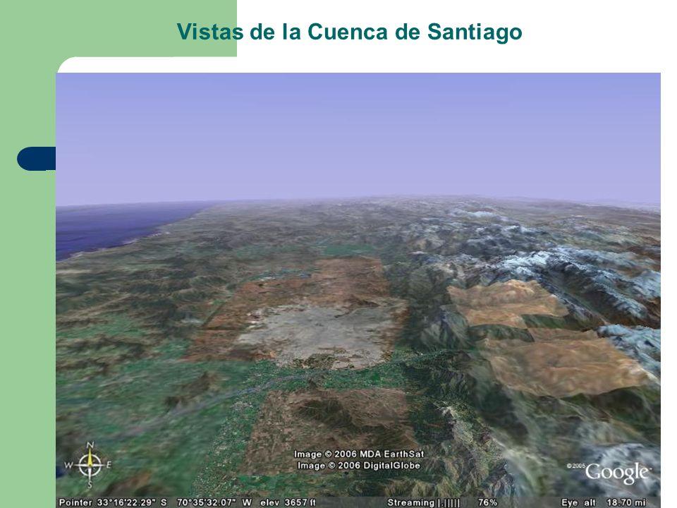 Vistas de la Cuenca de Santiago