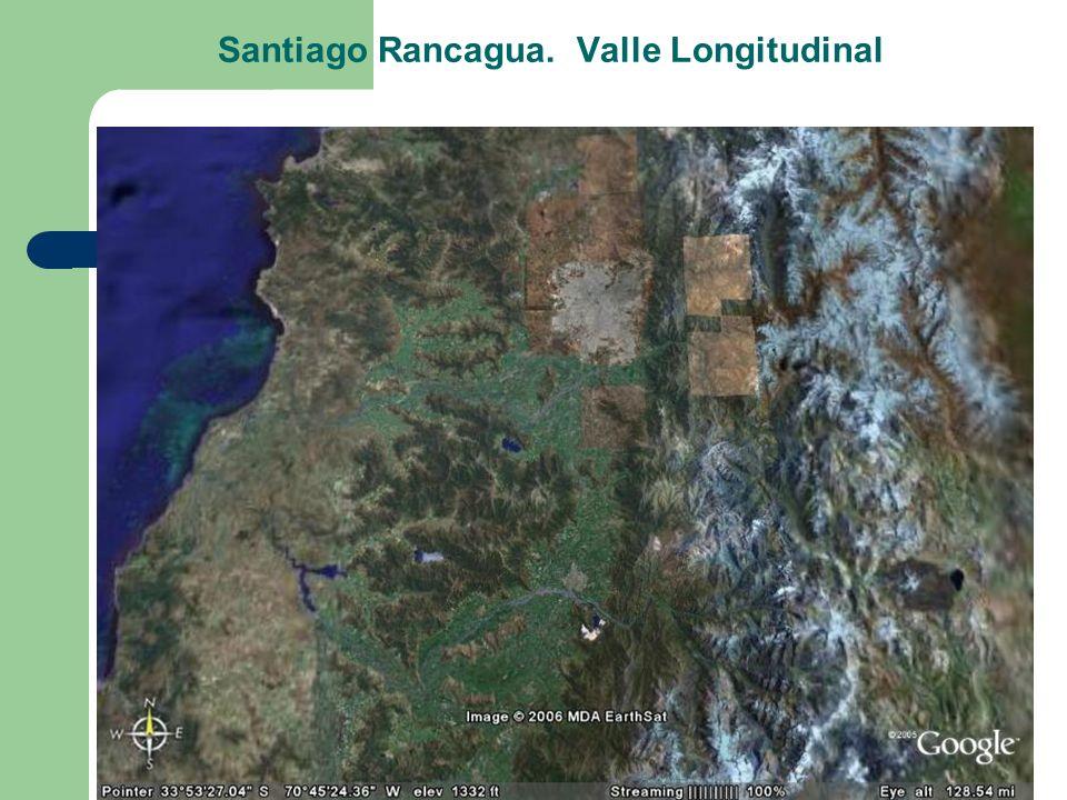 Santiago Rancagua. Valle Longitudinal