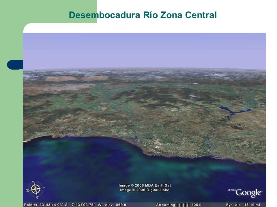 Desembocadura Río Zona Central