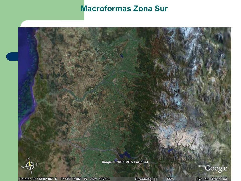 Macroformas Zona Sur