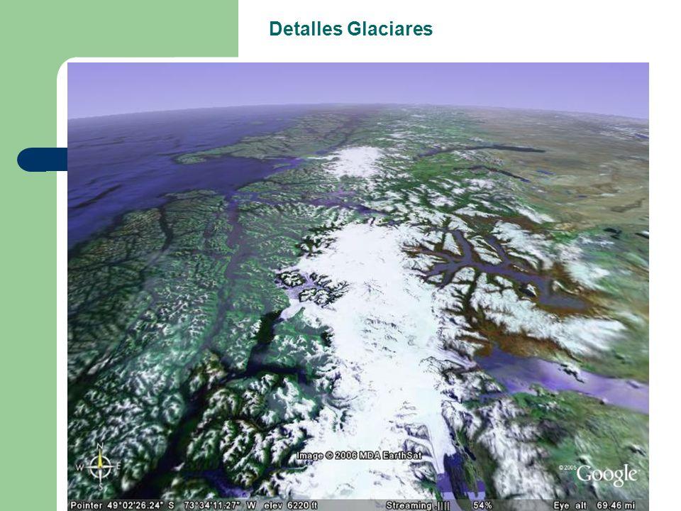 Detalles Glaciares