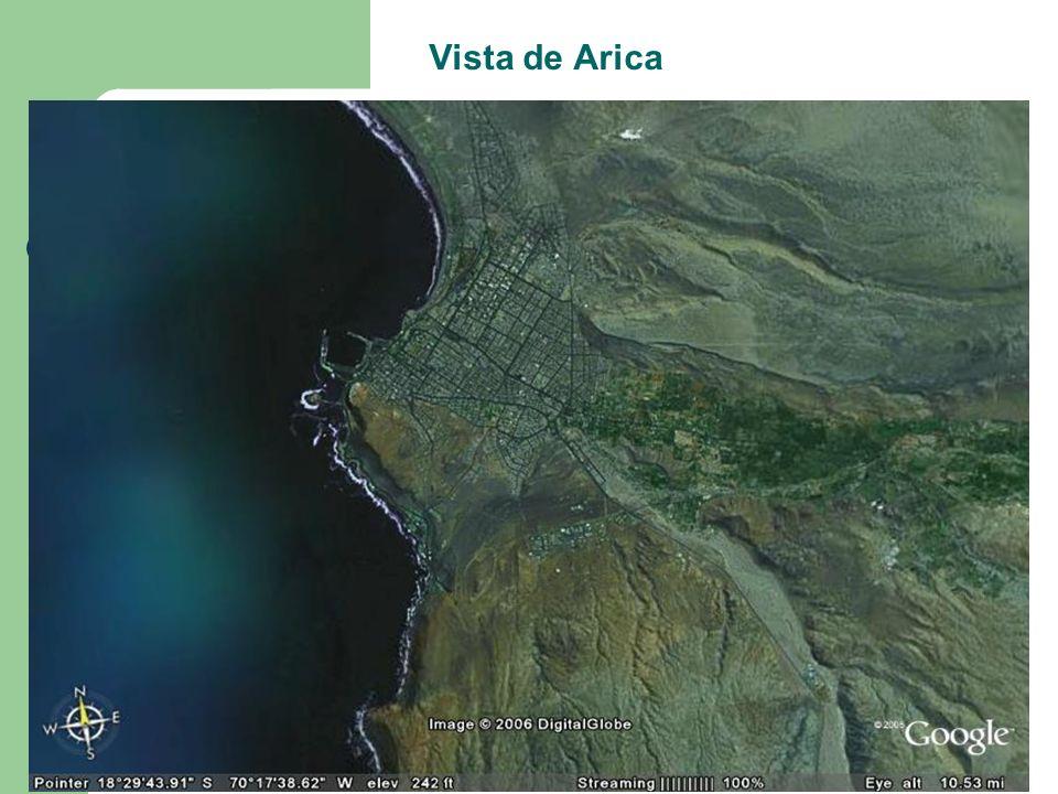 Vista de Arica