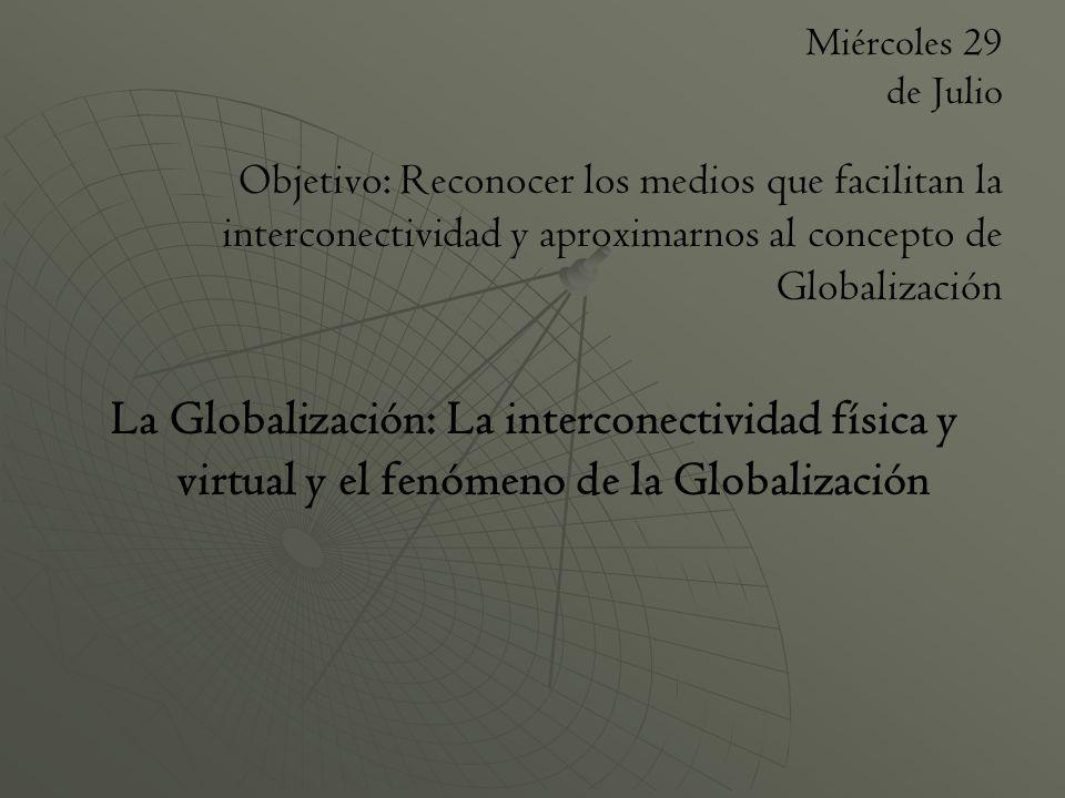 Trabajo de Investigación Objetivos: Caracterizar la Globalización como un proceso con múltiples expresiones Aplicar los elementos básicos de la Metodología de Investigación en las Ciencias Sociales Evaluación: Dos notas parciales (1 informe en Blog, 1 presentación) Actividades:1.