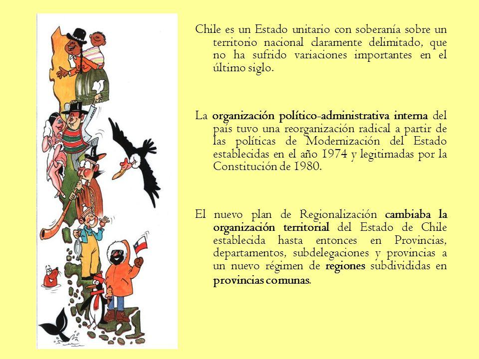Unidad 4 Territorio nacional y geografía económica de Chile. Contenidos Forma y situación geográfica de Chile. El concepto geográfico de región. Las b