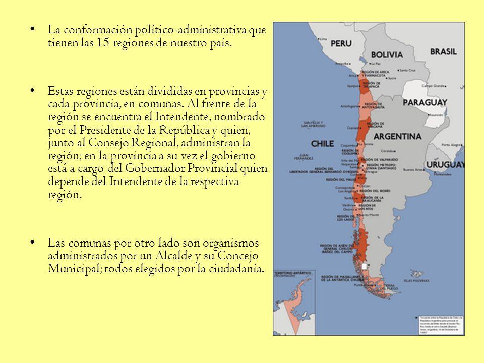 Chile es un Estado unitario con soberanía sobre un territorio nacional claramente delimitado, que no ha sufrido variaciones importantes en el último s