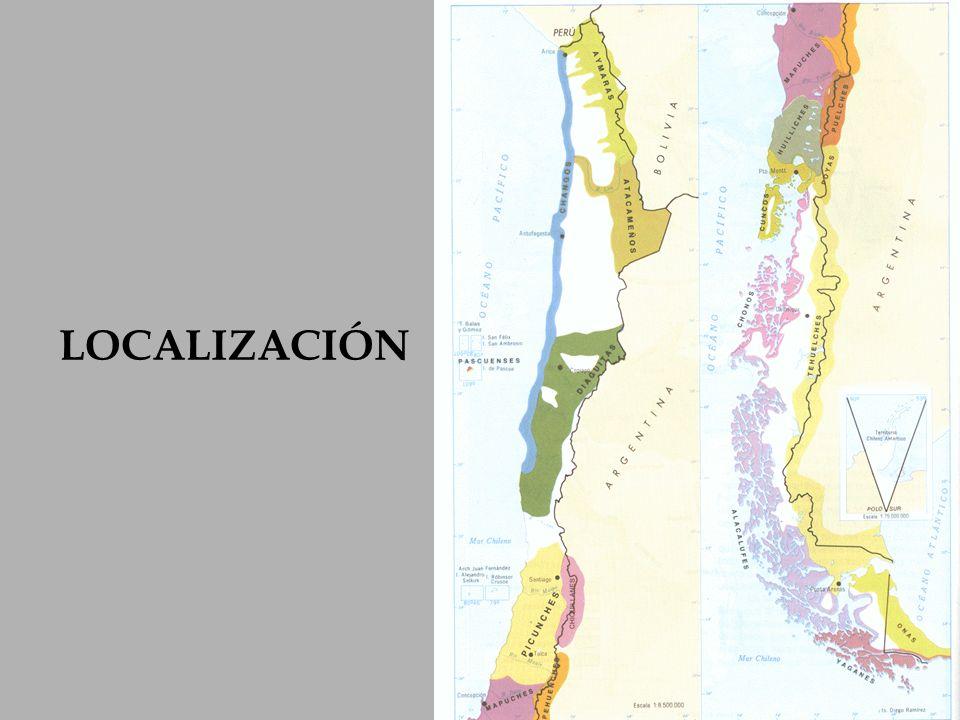 Se pueden distinguir los siguientes pueblos: Tribus agricultoras zona norte : Atacameños y Diaguitas.