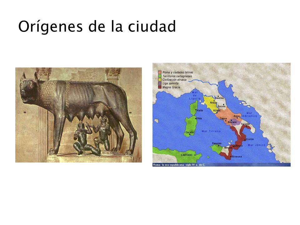 Territorios conquistados seran conquistados cultural e idiomáticamente por el uso del latín como lengua oficial.