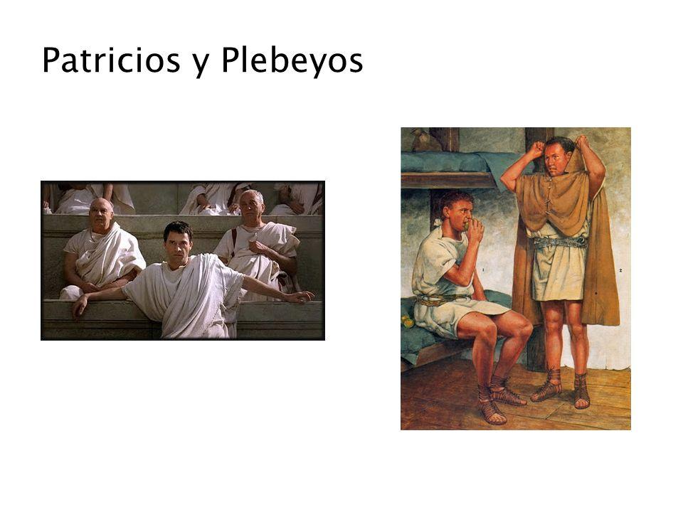 445 a.C Matrimonios Patricios-Plebeyos 367 a.C.