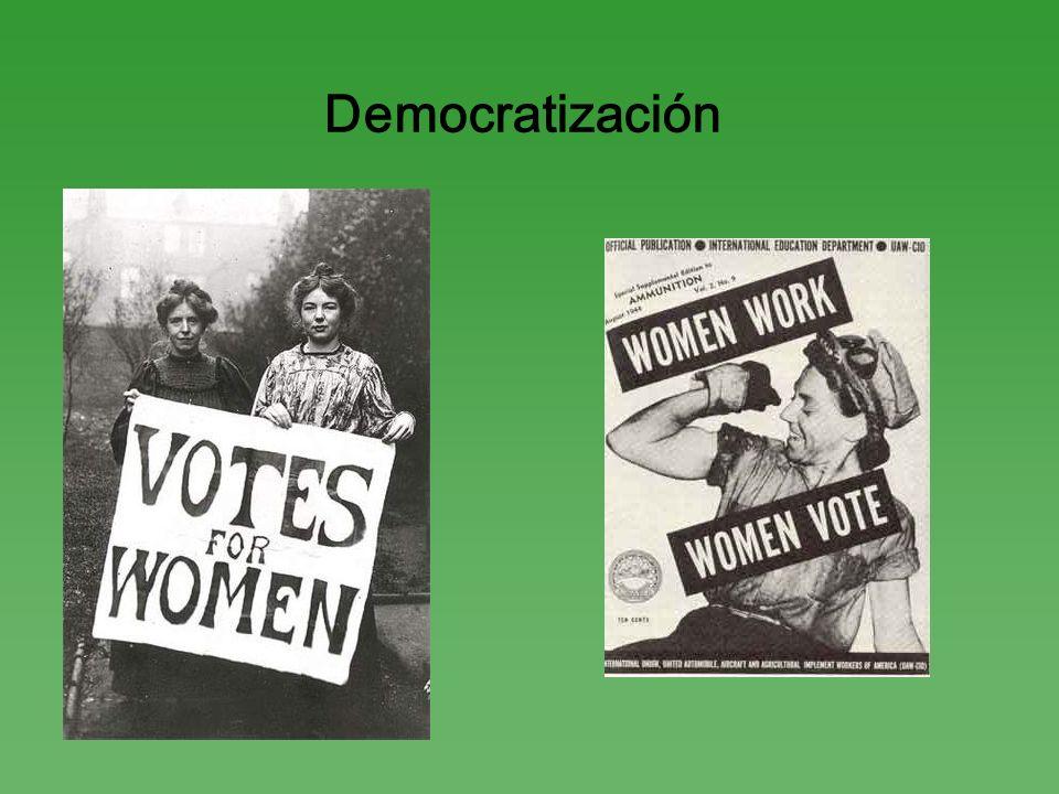 Democratización
