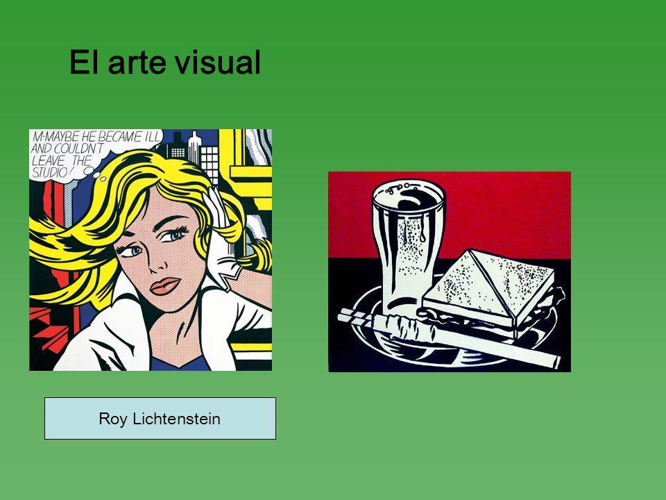 El arte visual Roy Lichtenstein