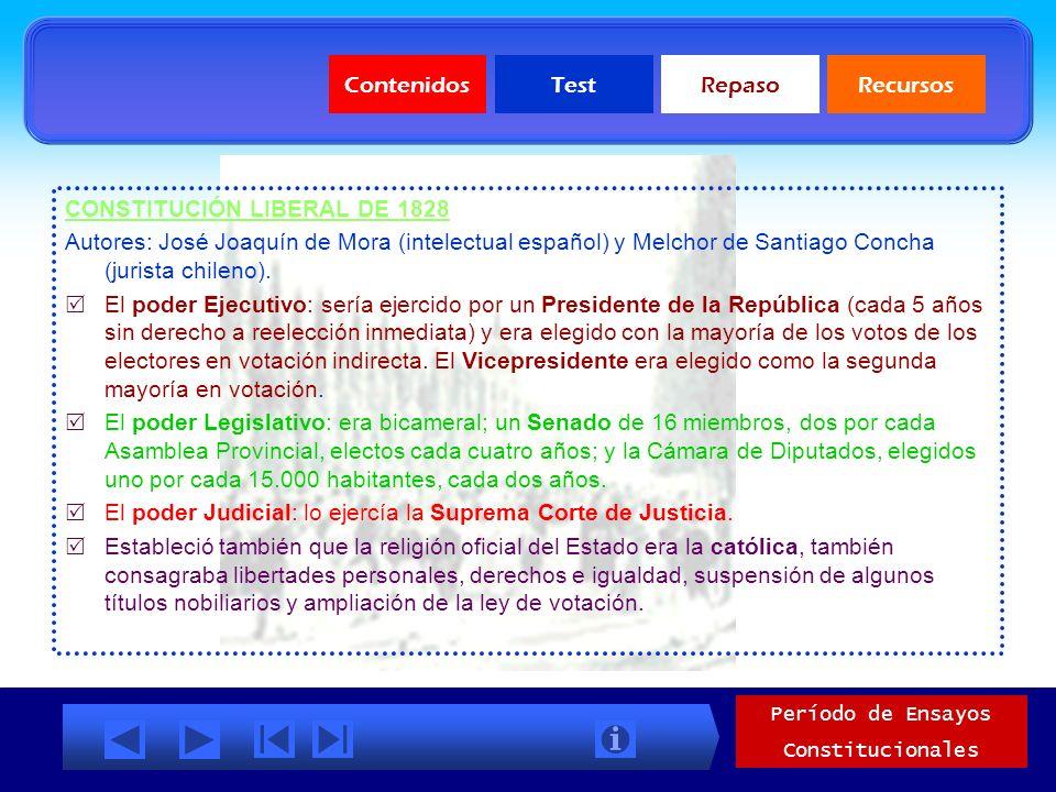ENSAYO FEDERALISTA DE 1826 Autor: José Miguel Infante Rojas (abogado) No se hizo con una Carta Constitucional formalmente aprobada, ya que la impacien